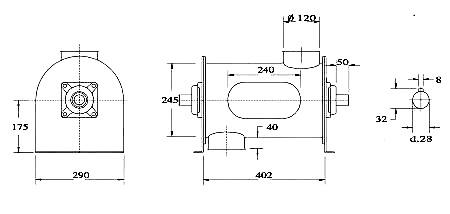Distaccatore centrifugo mod L.D.C.